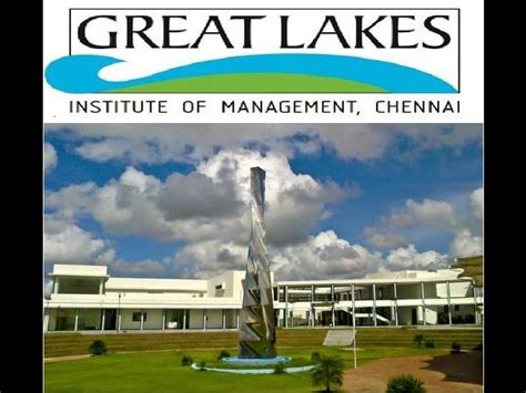 Great Lakes Mba by Great Lakes Institute Of Management Offers Pgdm Admission