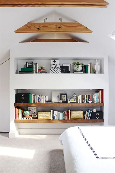 open shelves in bedroom at home with mandy pellegrin a beautiful mess bloglovin