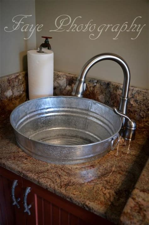 Galvanized Kitchen Sink by Parade Of Homes 2013 Eclectic Laundry Room