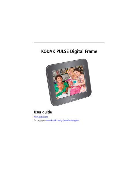 Download Free Pdf For Kodak Pulse W730 Digital Photo Frame