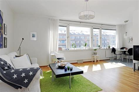 how to decorate a single room self contain 10 small one room apartments featuring a scandinavian d 233 cor