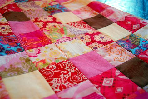 How To Patchwork - handmade beginnings patchwork sleep sack 187