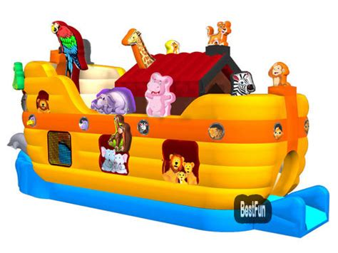 inflatable boat house inflatable obstacle noahs ark animal house boat manufacturer supplier