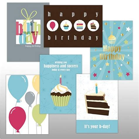 Assorted Birthday Cards For Employees Classic Celebrations Assortment Happy Birthday At