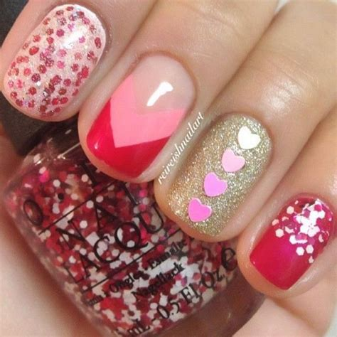 valentines nails design 16 killer s day nail ideas