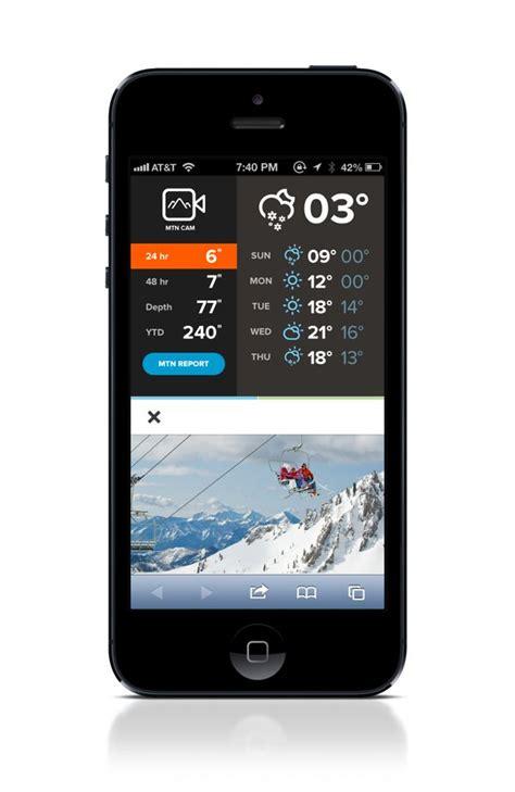 app ui ux and mobile ui on pinterest snowbird com by rally interactive via behance ui