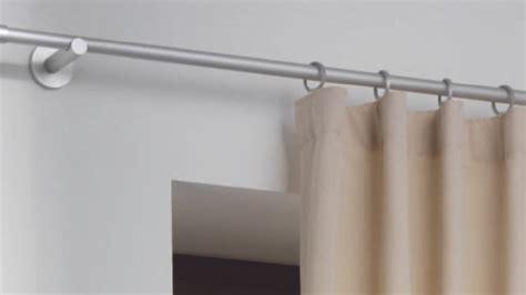 gardinenstange wandmontage gardinenstange base mit ringen