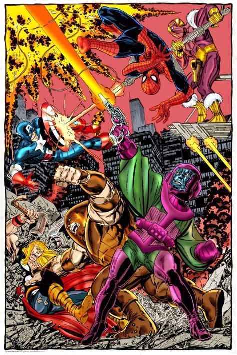 libro avengers by john byrne avengers vs kang the conqeurer the juggernaut and baron zemo john byrne baron