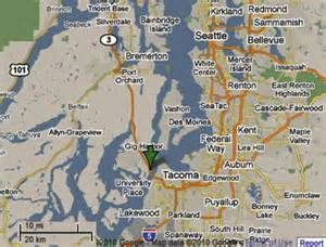 seattle harbor map sighting reports 2010