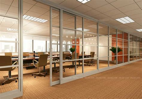 office interior rendering office 3d interior glass wall ohio united states
