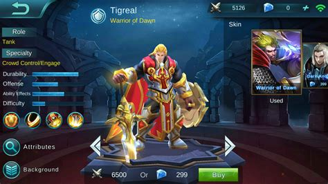 mobile legend guide mobile legends tigreal build guide