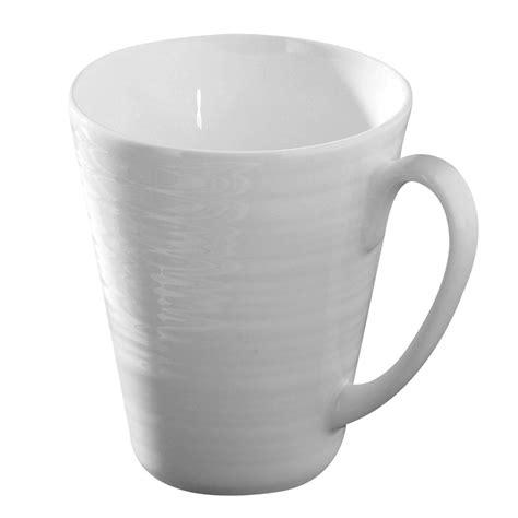 Plain Mug of 24 plain white design tea coffee cups