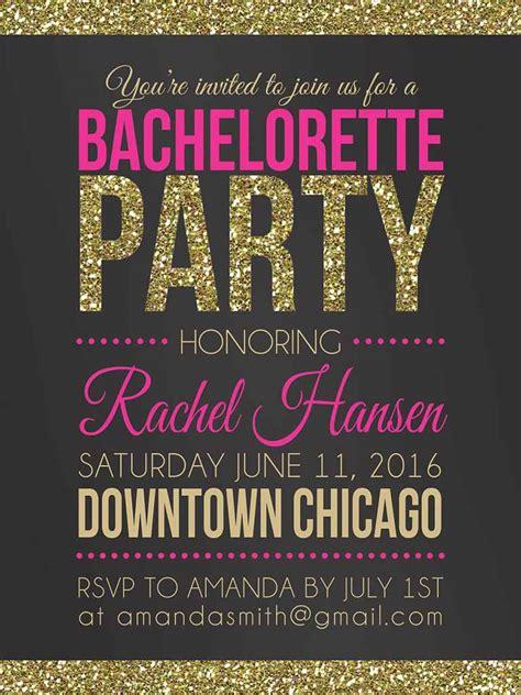 14 Printable Bachelorette Party Invitation Templates Bachelorette Invitation Templates Free