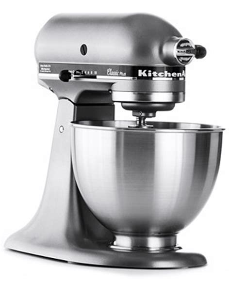 Kitchenaid Classic Plus Mixer by Macy S Kitchenaid 4 5 Qt Classic Plus Stand Mixer For