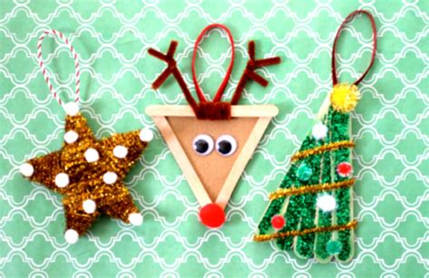 diy simple christmas tree decoration ideas for kids 2016