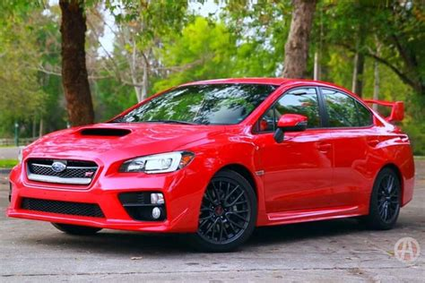 subaru minivan 2016 2016 subaru wrx sti 5 reasons to buy autotrader