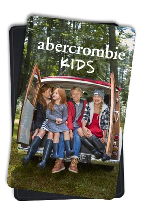 Abercrombie Gift Cards - abercrombie kids gift card store credit cards