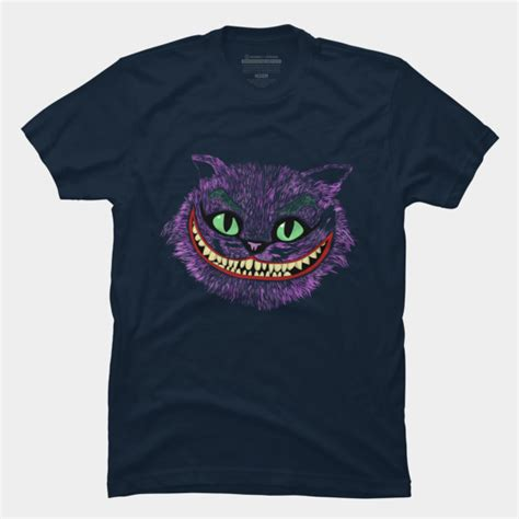 Batman The Joker Cheshire Cat T Shirt Size M cheshire cat in the joker t shirt by edwoody design