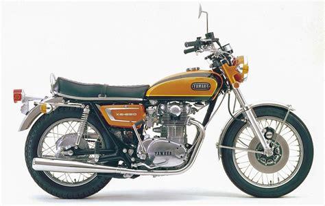 Yamaha Motorr Der 650 by Yamaha Xs 650 1974 1984 Die Japanische Bonneville