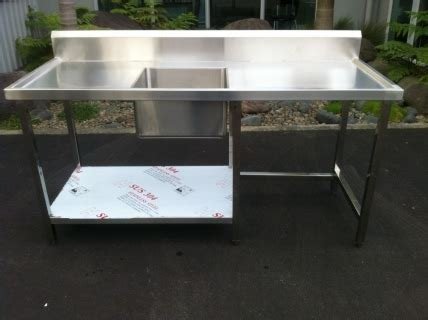 stainless steel bench sink stainless steel sink benches new equipment