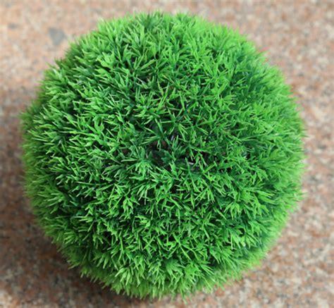 Decorative Grass Balls by Decorative Artificial Grass Plastic Leaf Effect