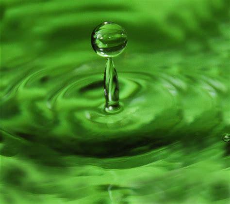 Kalung Korea Blue Water Drop the green sojourn