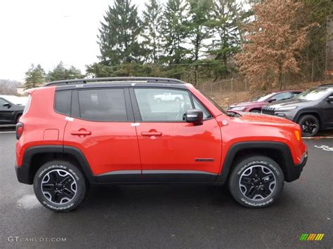 red jeep 2016 colorado red 2016 jeep renegade trailhawk 4x4 exterior