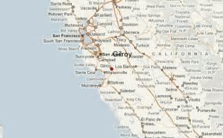 california map gilroy gu 237 a urbano de gilroy