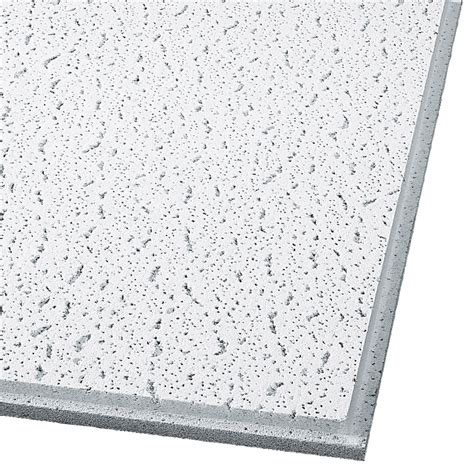 ceiling tiles shop armstrong ceilings common 24 in x 24 in actual 23 704 in x 23 704 in fissured 16 pack