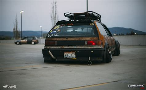 stanced honda pin stanced honda civic ek fast car magazine on pinterest
