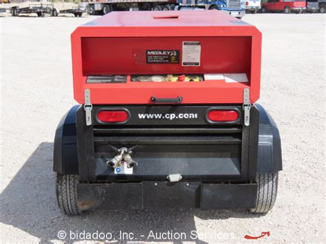2012 atlas copco cps185 185 cfm towable air compressor perkins diesel bidadoo ebay