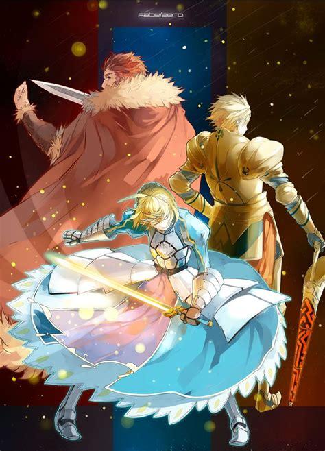 Fate 0 Anime by Fate Zero Honor Arthur Pride Gilgamesh