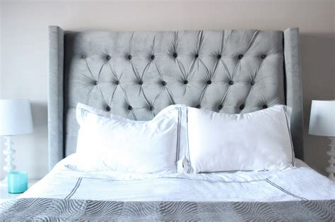 Diy Tufted Headboard For 150 Destination Nursery Easy Diy Tufted Headboard