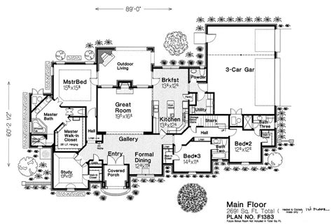 fillmore design floor plans f1383 fillmore chambers design group