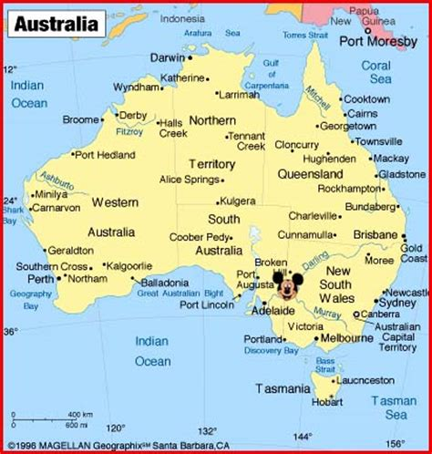 map of countries in australia map of australia and surrounding countries
