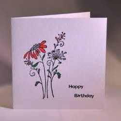 Pretty Handmade Cards - a pretty handmade floral birthday card handmade by helen