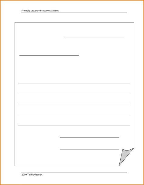 Inspirationa Business Letter Template Blank Kishsafar Com Blank Letter Template