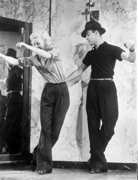 fred astaire ginger rogers swing time laurelyse ginger rogers rehearsing with dance giant