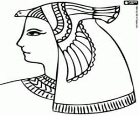 desenhos de antigo egipto ou antigo egito para colorir