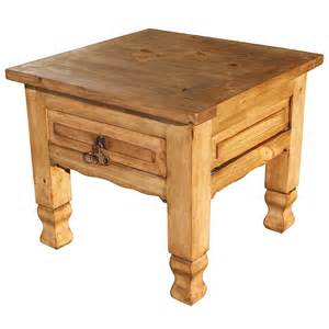 Rustic End Tables Rustic Pine Collection Keko End Table Lat06