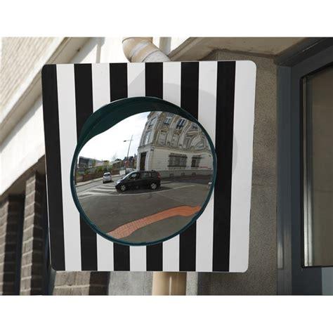 miroir sortie parking miroir sortie garage ou parking voie publique 216 40 cm mottez b319p60pv norauto fr