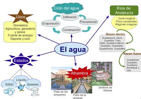 imagenes mapa mental del agua el agua