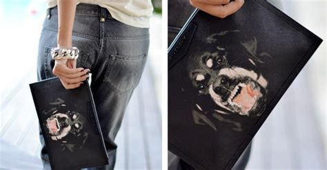 givenchy rottweiler clutch ebay givenchy black rottweiler print s clutch bag pouch