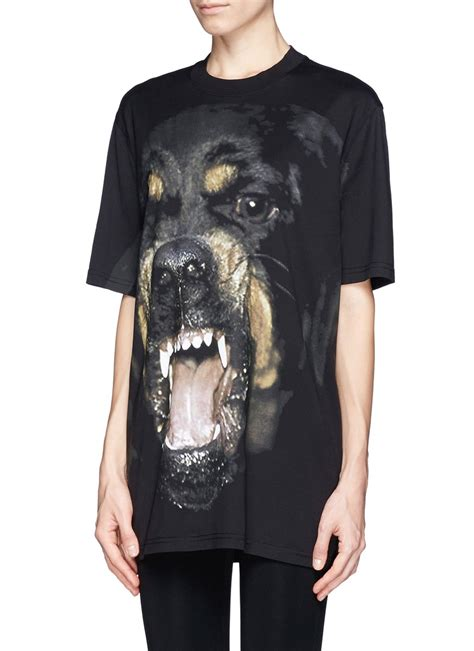rottweiler clothing givenchy rottweiler print t shirt on sale multi colour t shirts tops