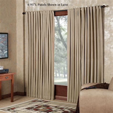 absolute zero curtains absolute zero eclipse home theater blackout curtain panels