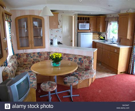 Caravan Upholstery Scotland by Static Caravan Interior Stock Photo Royalty Free Image