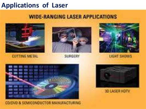 laser and its applications