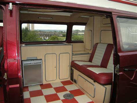volkswagen minibus interior vw bus interior custom built vw cer interiors