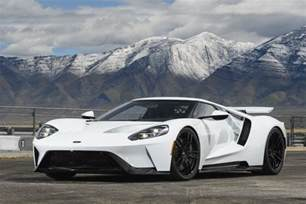 White Ford Gt 6 Just Revealed Secrets About The 2017 Ford Gt The Most