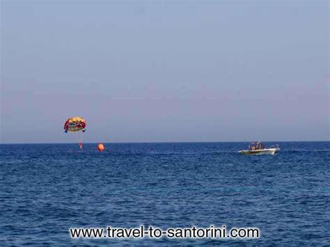 boat parachute parachute agios georgios photo
